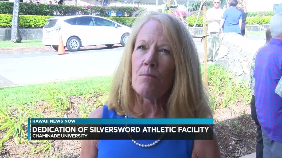 Chaminade University unveils new Silversword Training Center