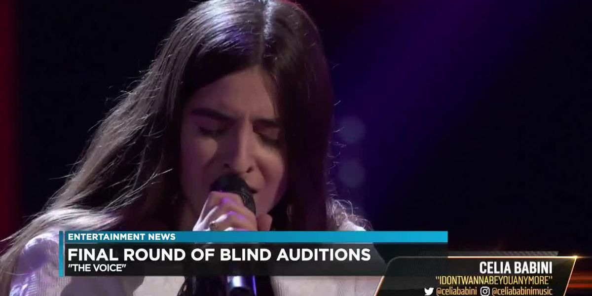 The Voice: Final round of the blind auditions