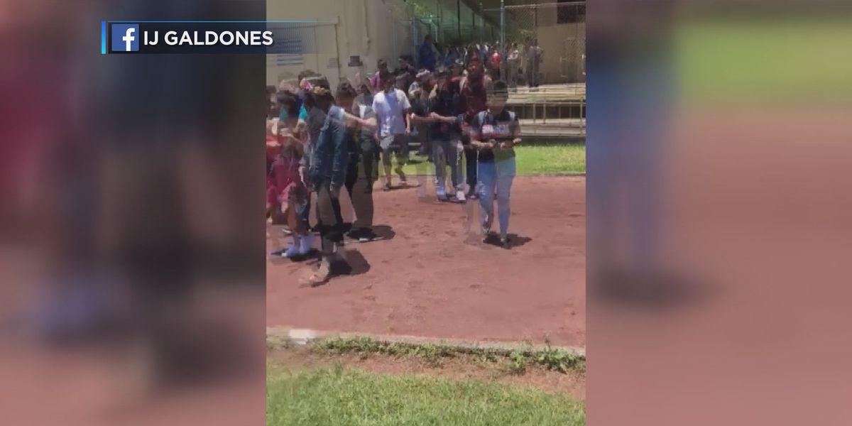Hilo High School students evacuate after massive quakes