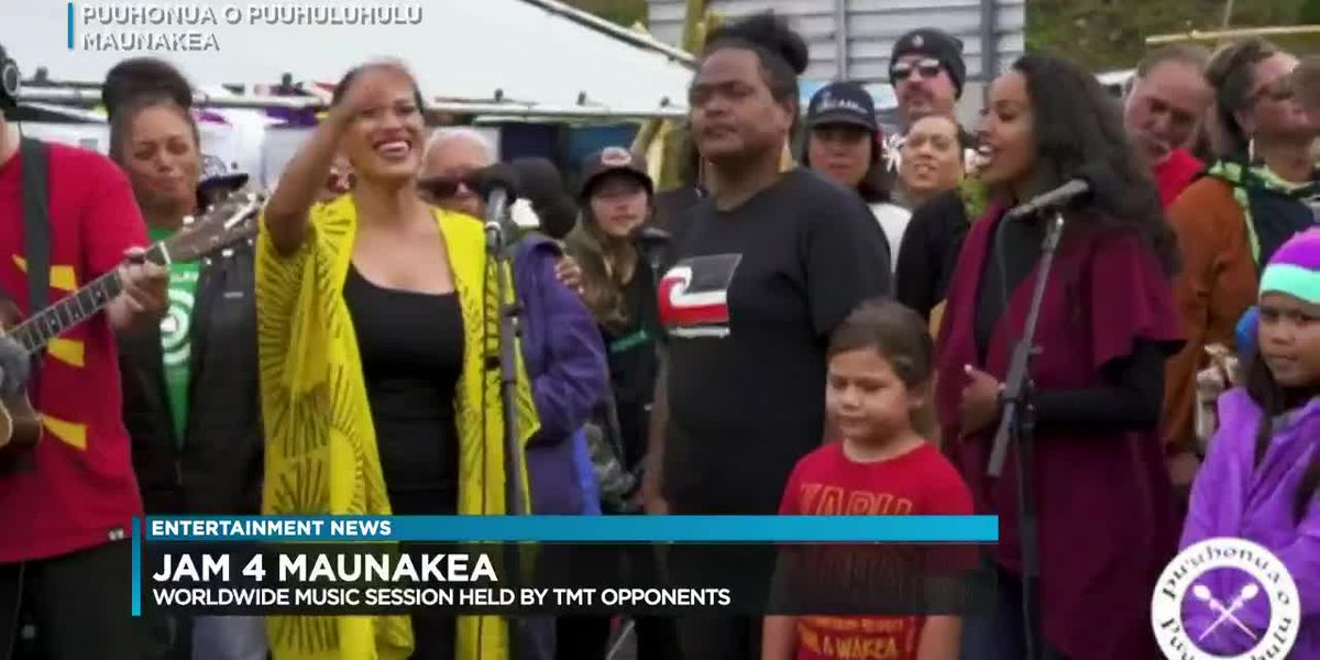 "Entertainment News: TMT Opponents held ""Jam 4 Mauna Kea"" yesterday"