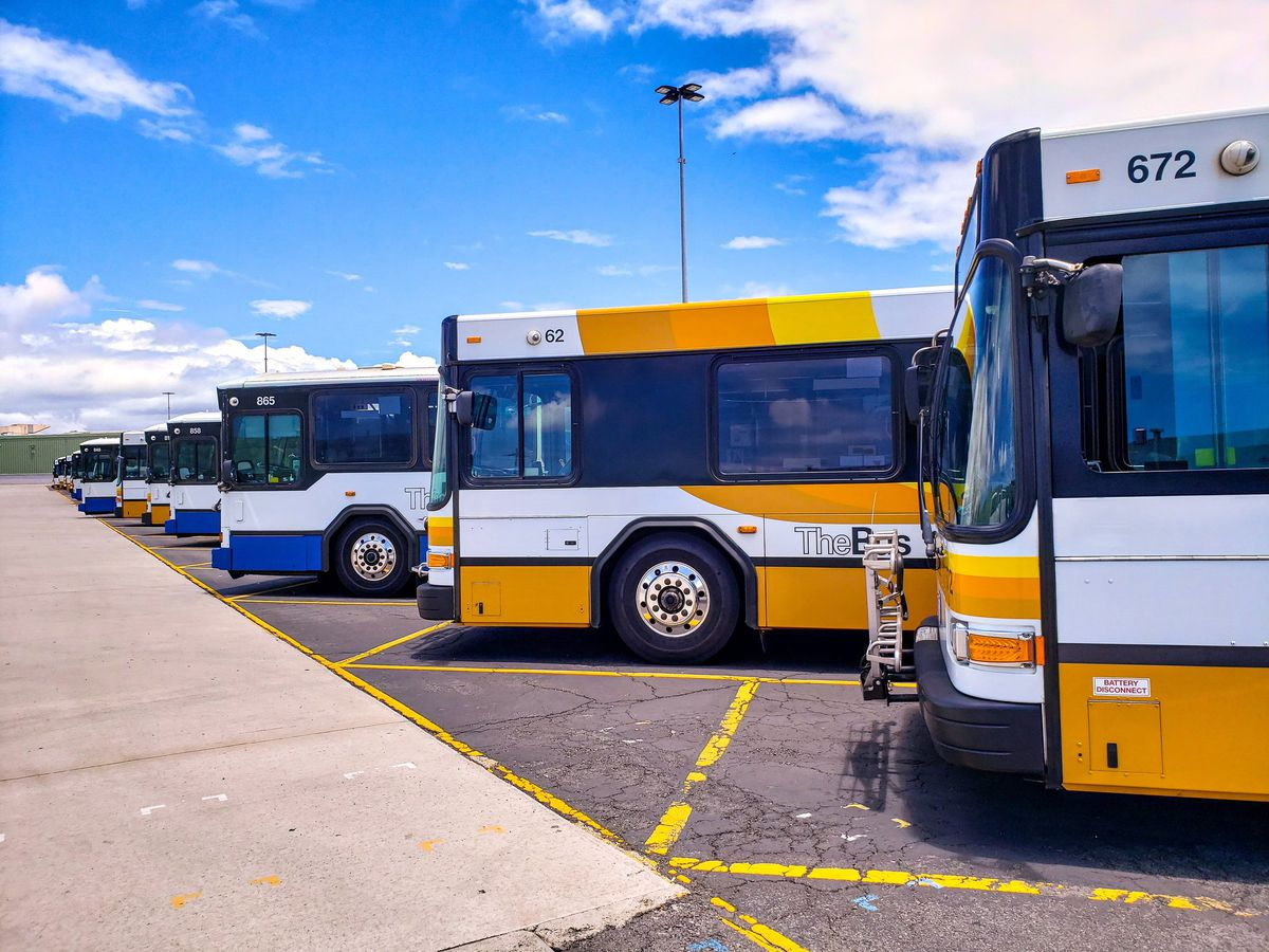 City buses on Oahu to resume service on Monday morning