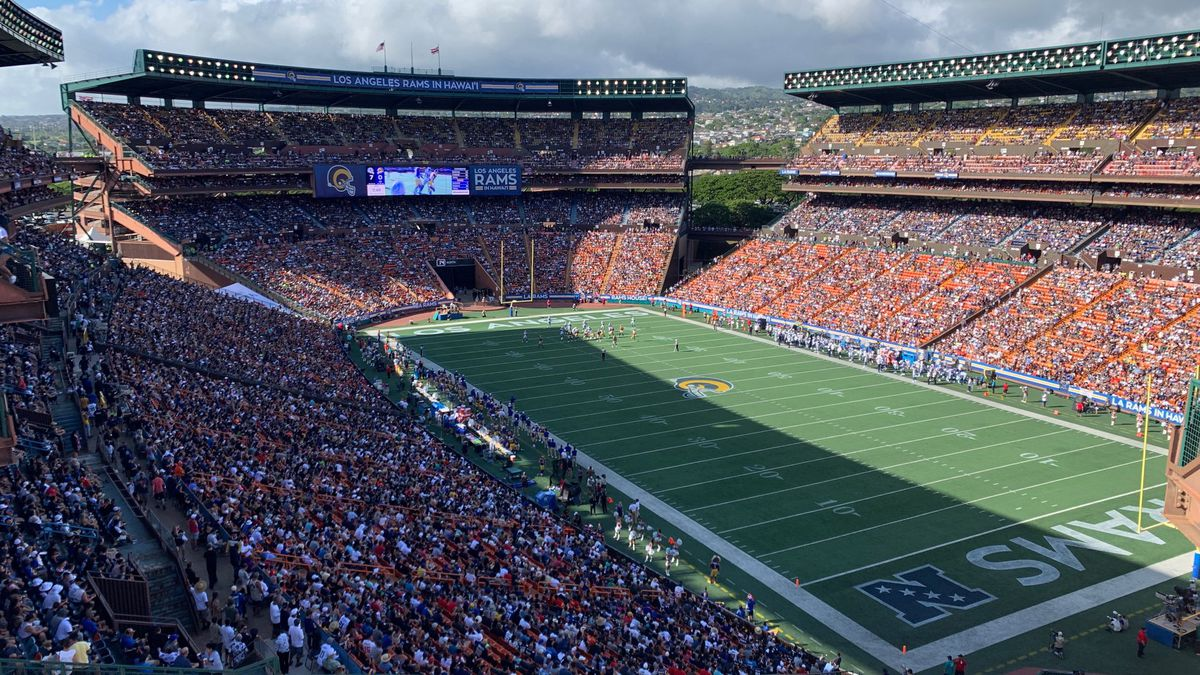 Cowboys top Rams, 14-10, in NFL's return to Aloha Stadium