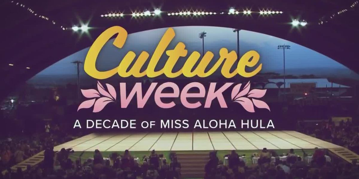 Culture Week: A Decade of Miss Aloha Hula