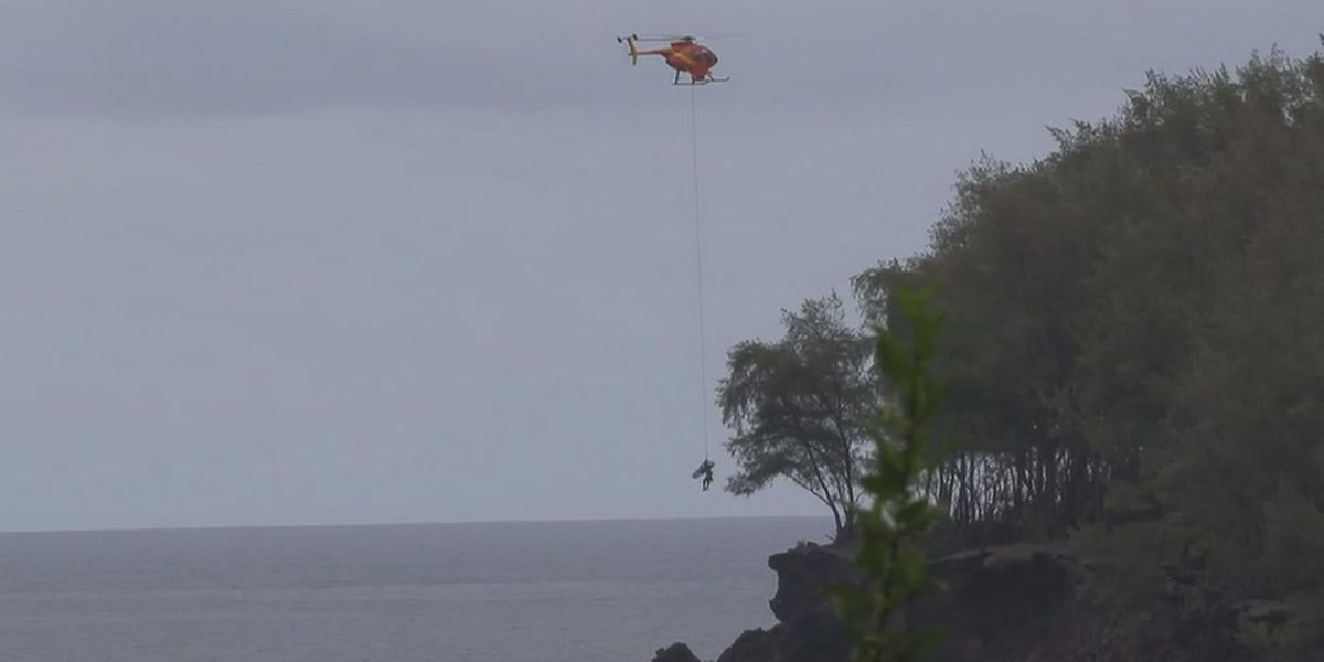 20-year-old dead after dirt bike plummets 35 feet off Big Island cliff
