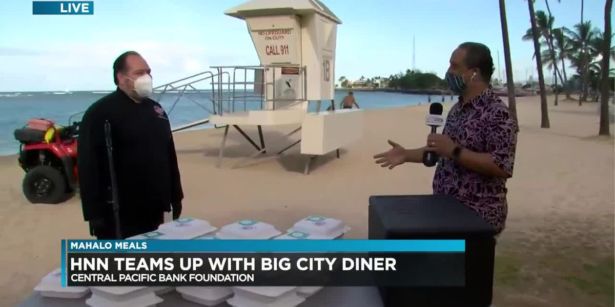 Mahalo Meals: HNN, CPB Foundation thanks city lifeguards for their work on the frontlines (Part 1)