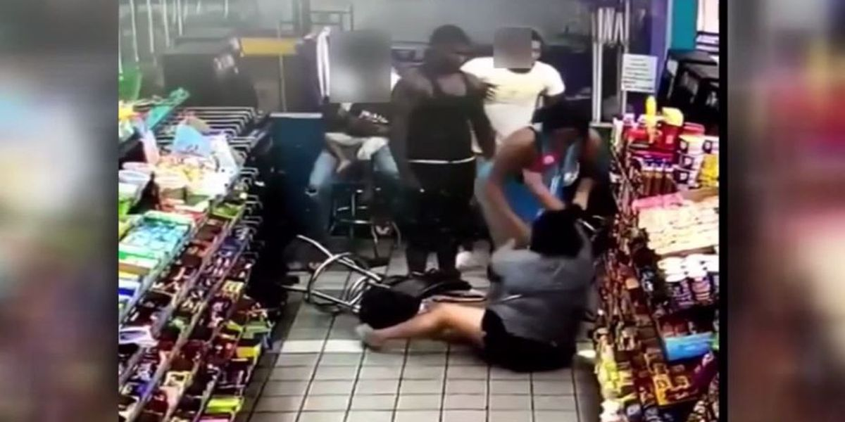 Texas woman beaten, robbed after coughing near couple at gas station
