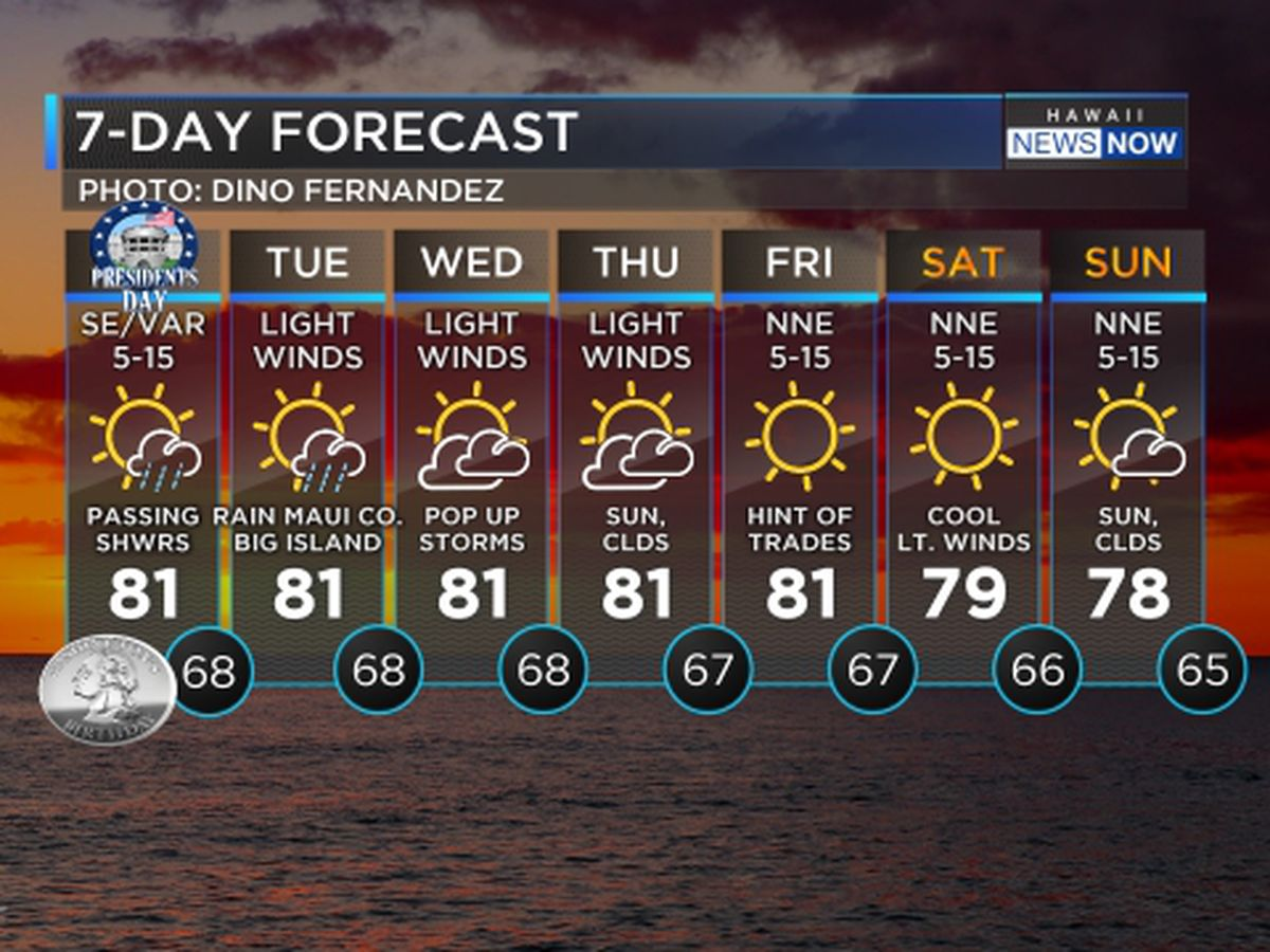Forecast: Stormy weather ahead for the east end of the state