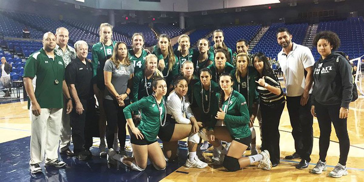 Rainbow Wahine defeat UC Irvine, win Big West outright