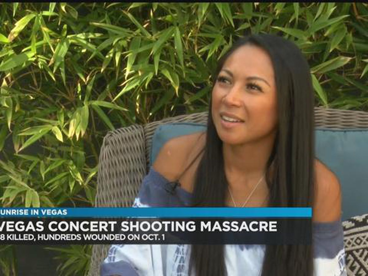 1 year later, Hawaii survivor of Vegas massacre still grappling with pain, trauma of that night