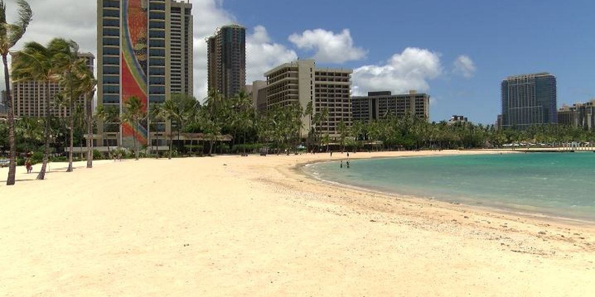 Over the weekend, Honolulu police issued 1,350 citations to those violating COVID-19 orders