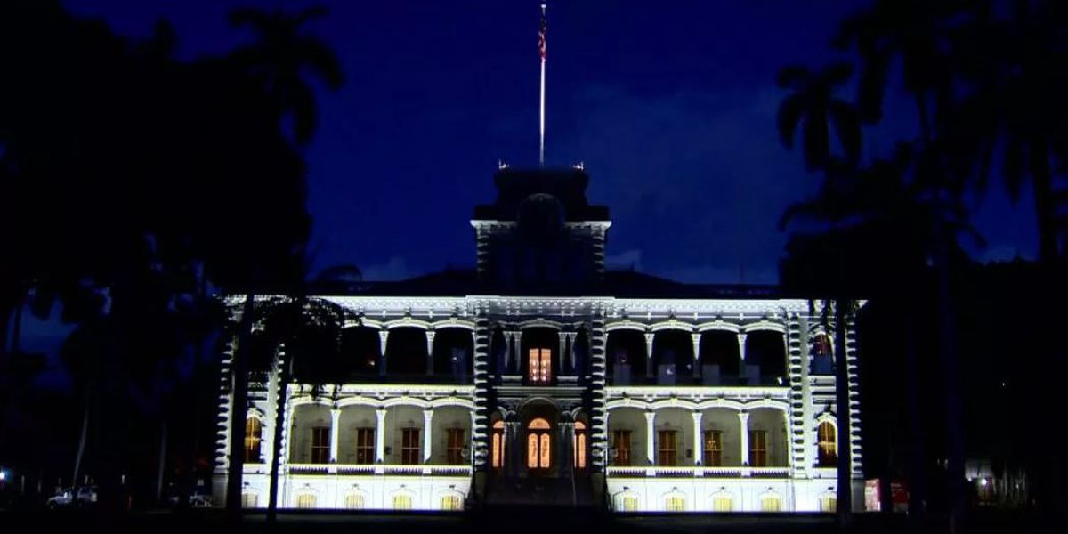 130 years ago, 'Iolani Palace turned on its lights. Today, the feat is being recognized