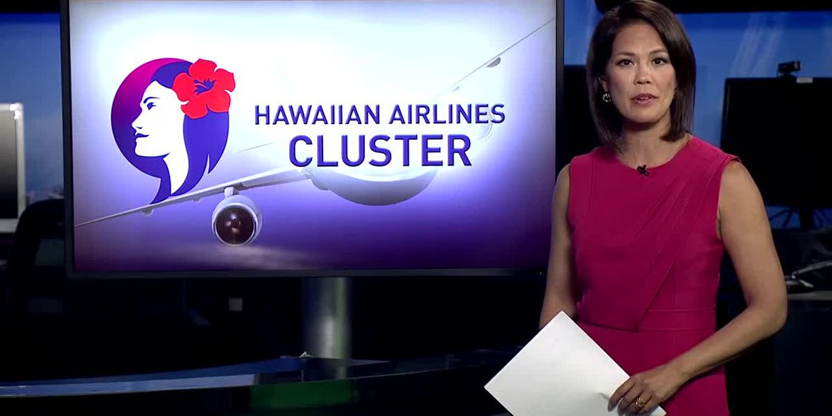 8 Hawaiian Airlines employees who attended training subsequently test positive for COVID-19