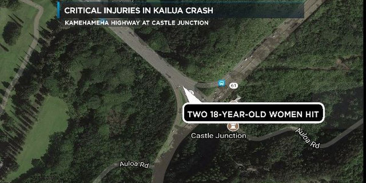 2 HPU students hit while trying to cross highway near Kaneohe campus