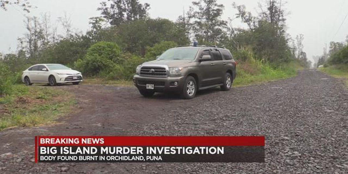 Big Island police investigating grisly murder in Puna