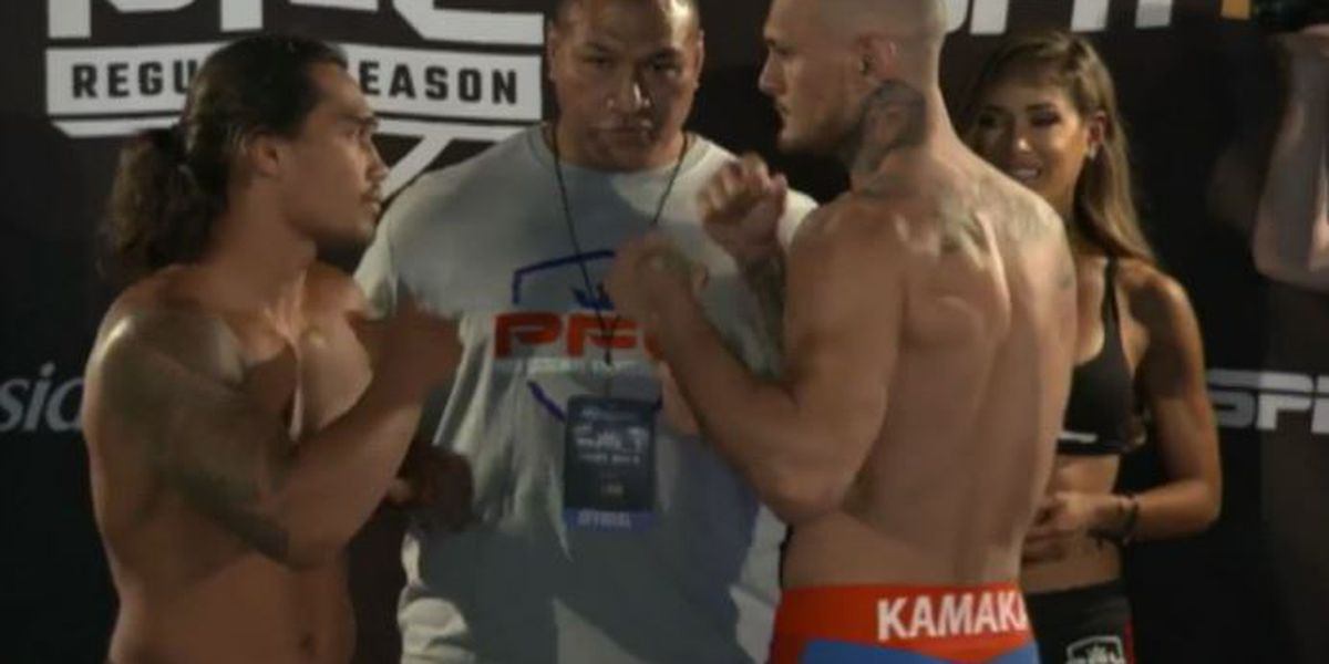 Kamaka misses weight ahead of highly anticipated PFL bout against Ray Cooper III