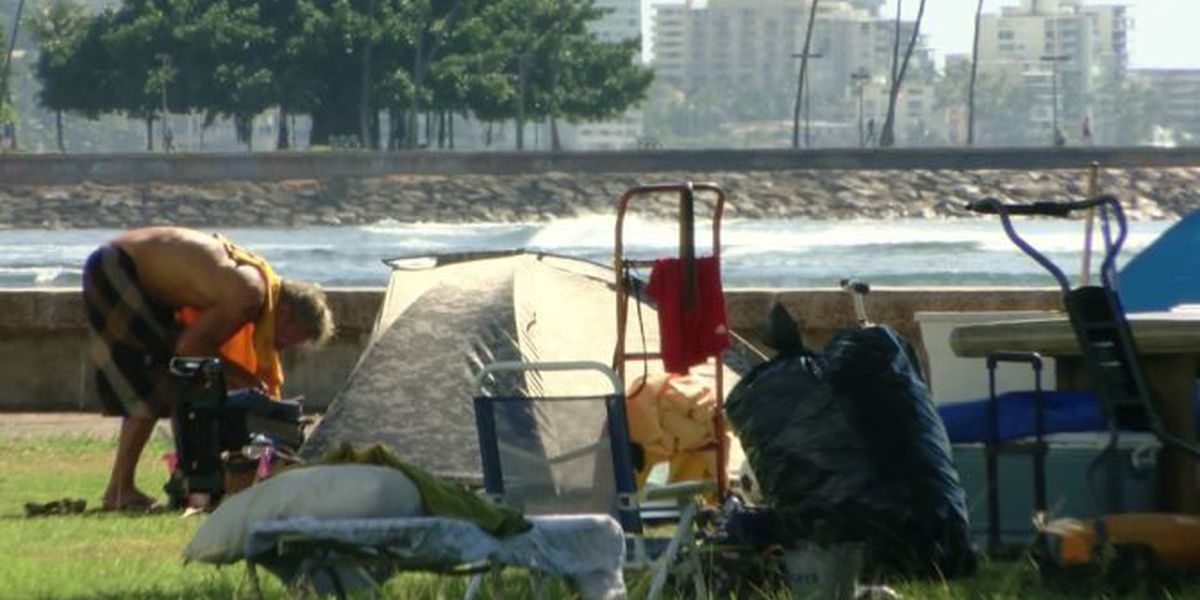 Officials in talks with bidders to remove homeless camps