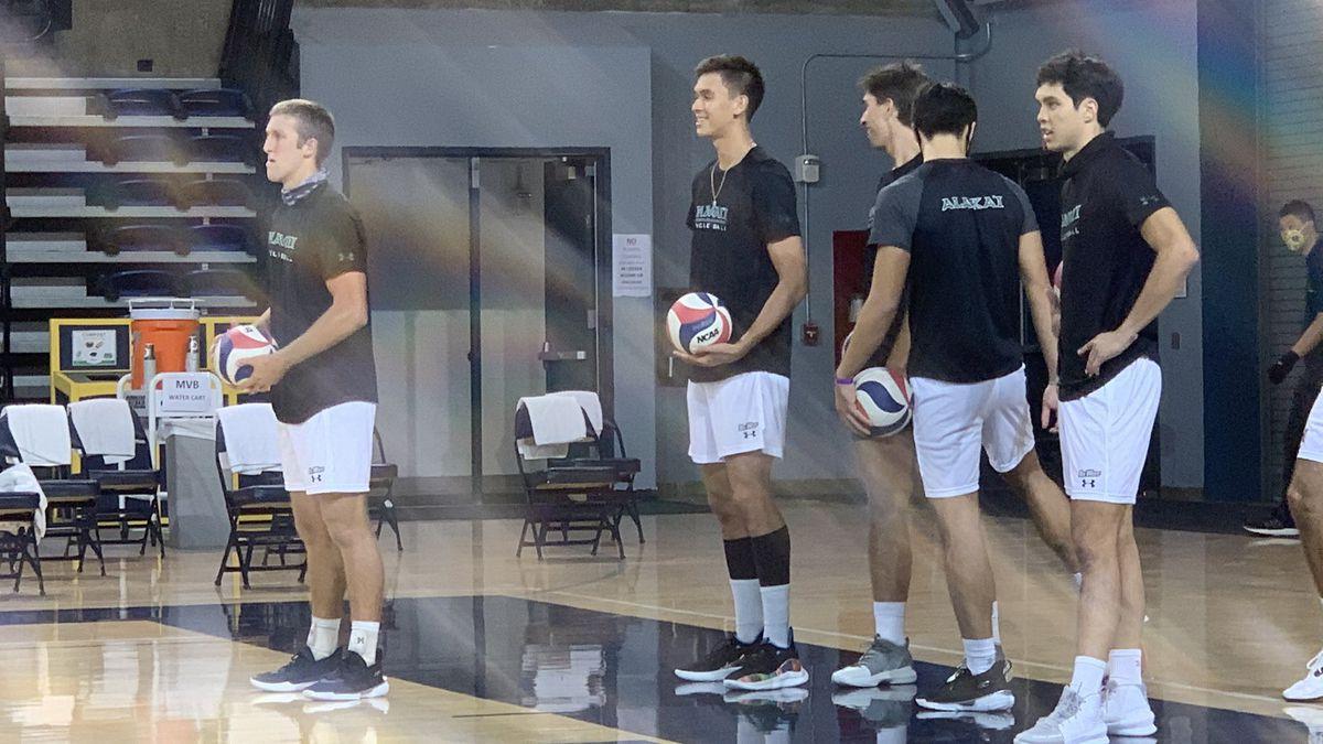 Rainbow Warriors volleyball takes down UC Irvine in season opener, 3-1