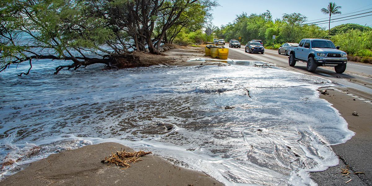 Public warned of possible coastal flooding as Hawaii sees unusually high tides