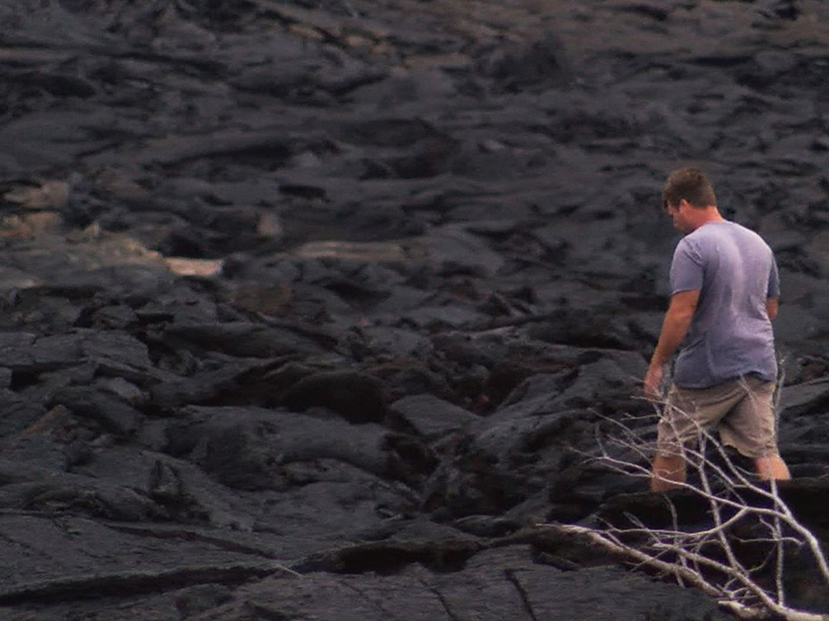 Lava took this military veteran's home. Rather than retreat, he simply bought the one next door
