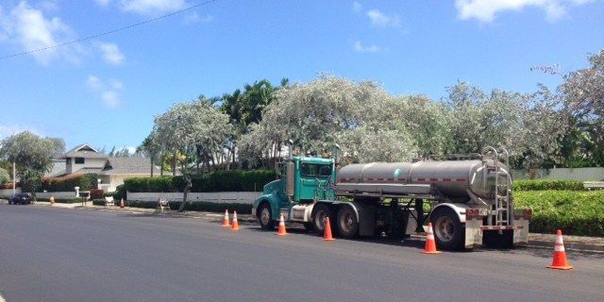 Water service restored in East Oahu, but repairs continue on transmission line leak