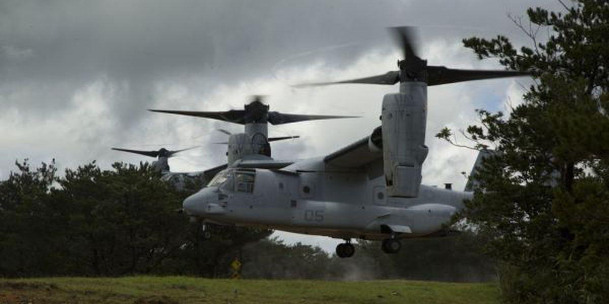 Marine Corps Base Hawaii prepares for new Osprey