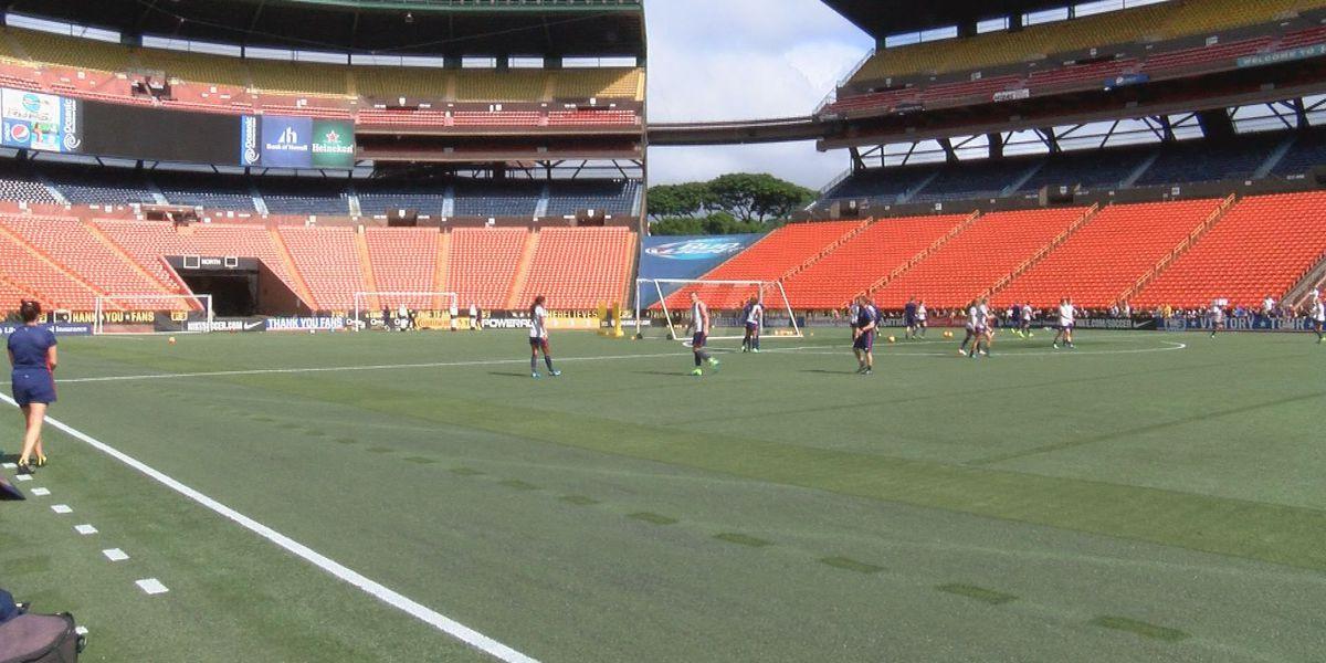 Aloha Stadium doing away with old turf
