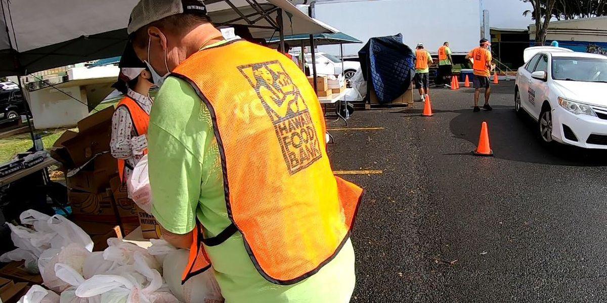 With holidays near, Hawaii Foodbank hopeful donations will increase