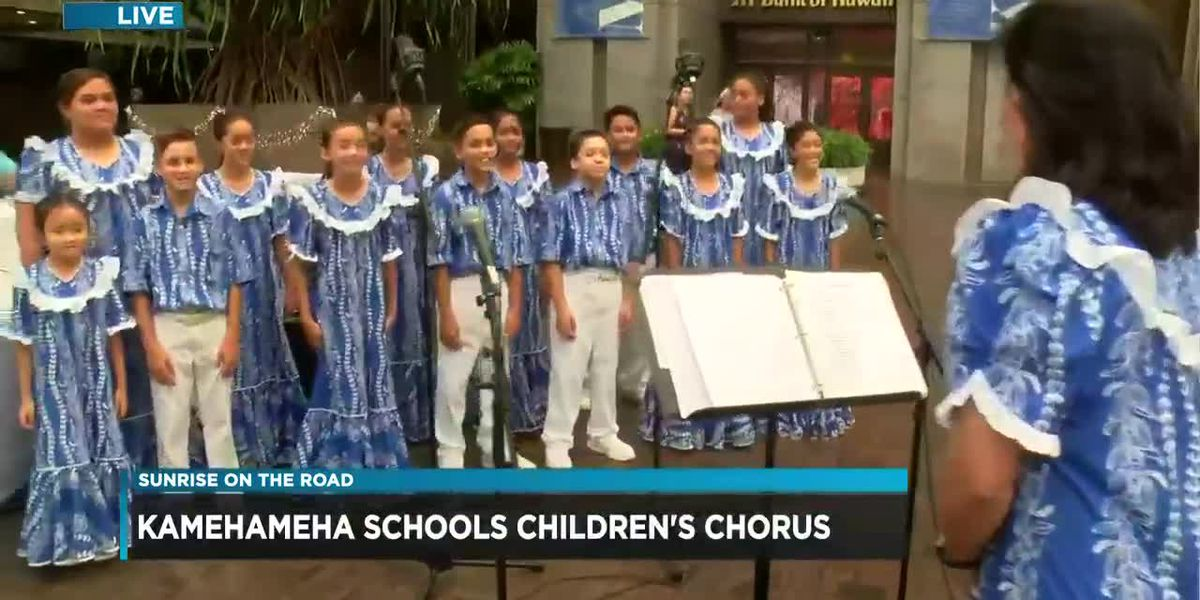 SOTR Giving Tuesday: Kamehameha Schools children's chorus