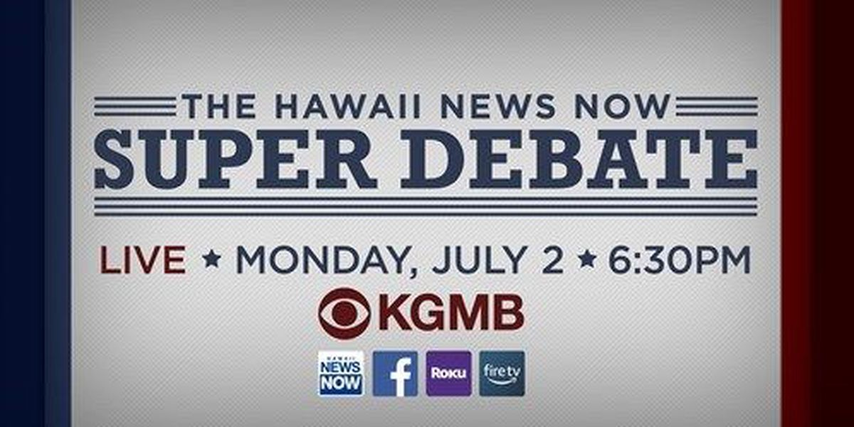 HNN announces Super Debate, featuring candidates for governor, lt. governor, Congress