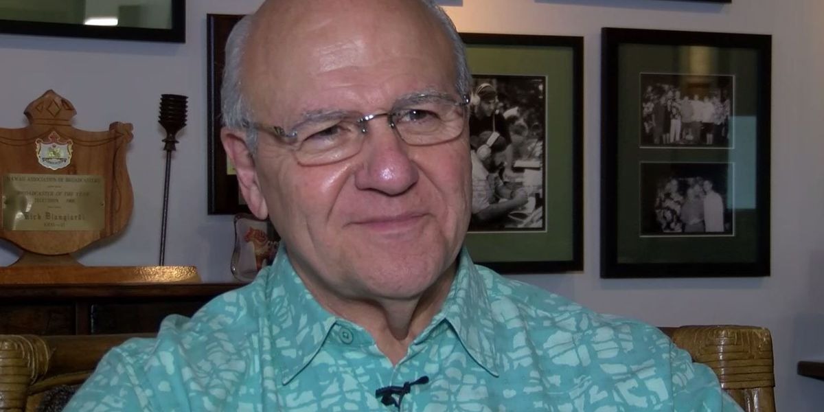 Blangiardi sits down to talk about being inducted into Hawaii Sports Circle of Honor