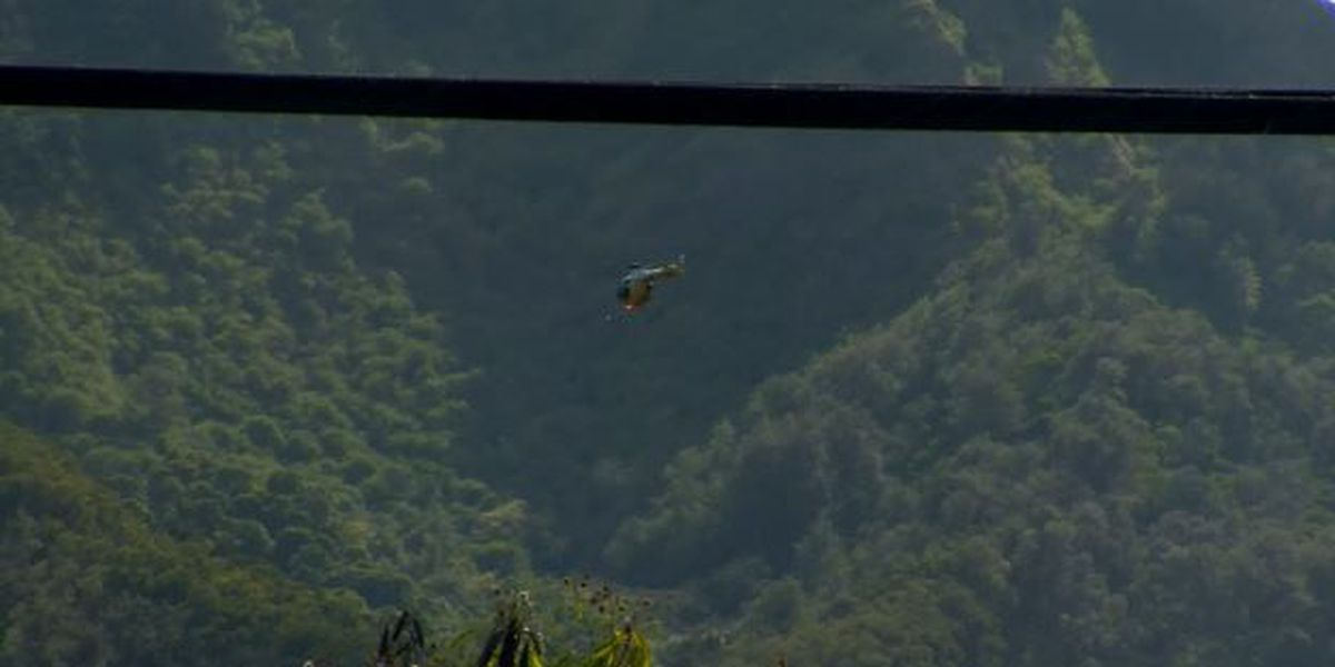 Plane wreckage likely to remain on mountain above Kunia