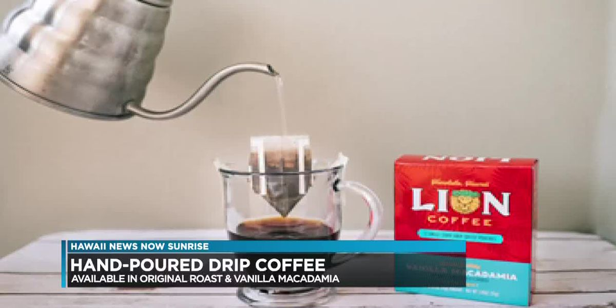 Lion Coffee introduces hand-poured drip coffee