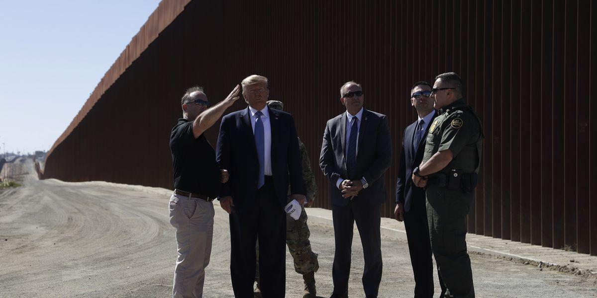 White House welcomes court ruling on border wall, proposes rollback of environmental law