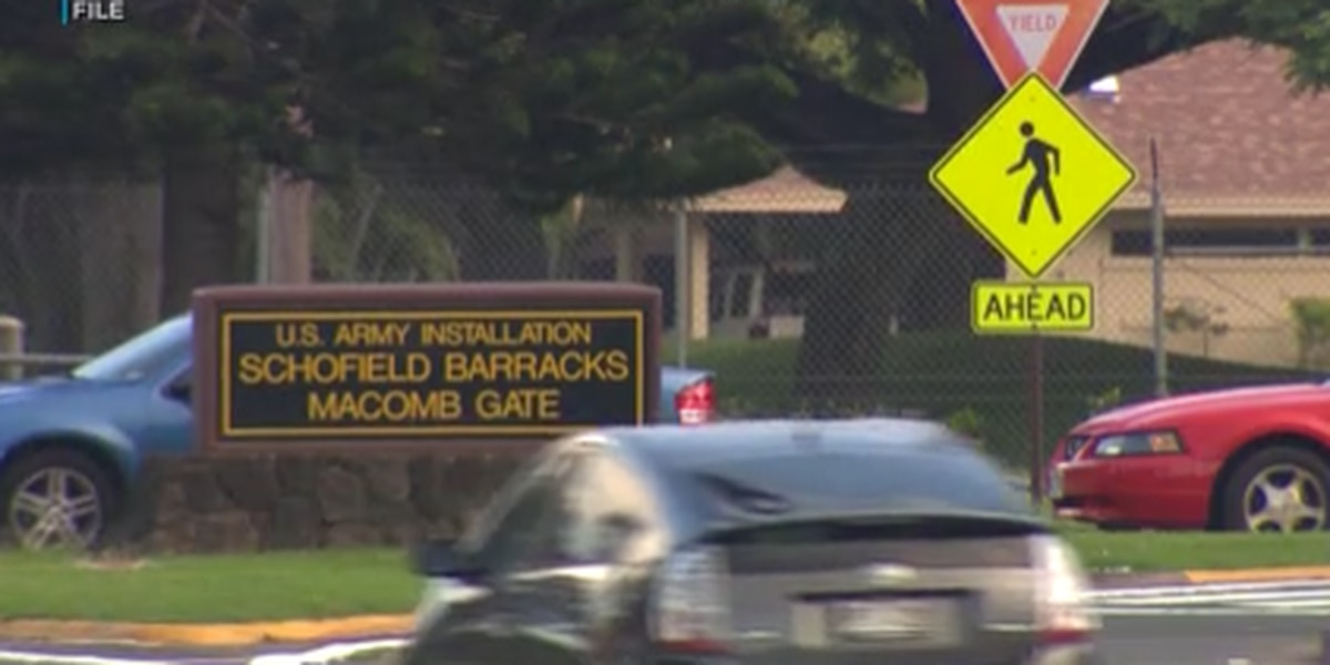 U.S. Army closes several gates at Oahu bases due to COVID-19