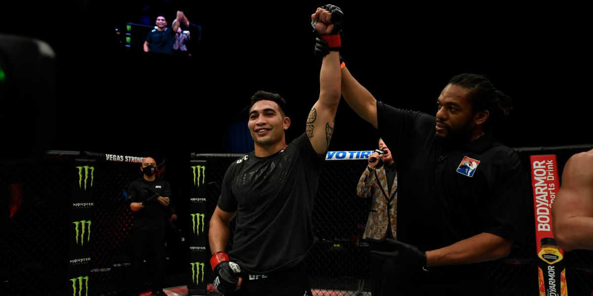 Kahuku's Punahele Soriano remains undefeated with first-round TKO at UFC on ABC