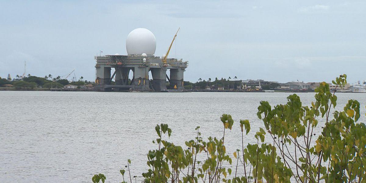 $2 billion 'golf ball' missile defense radar back in Hawaii