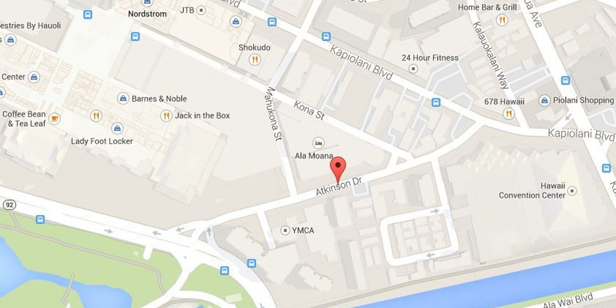 TRAFFIC ALERT: Road work on Atkinson Drive may create delays near Ala Moana Center