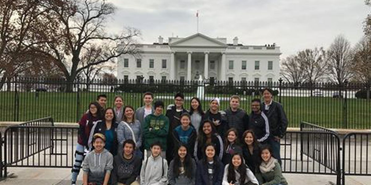 Hawaii students among first to tour Trump White House