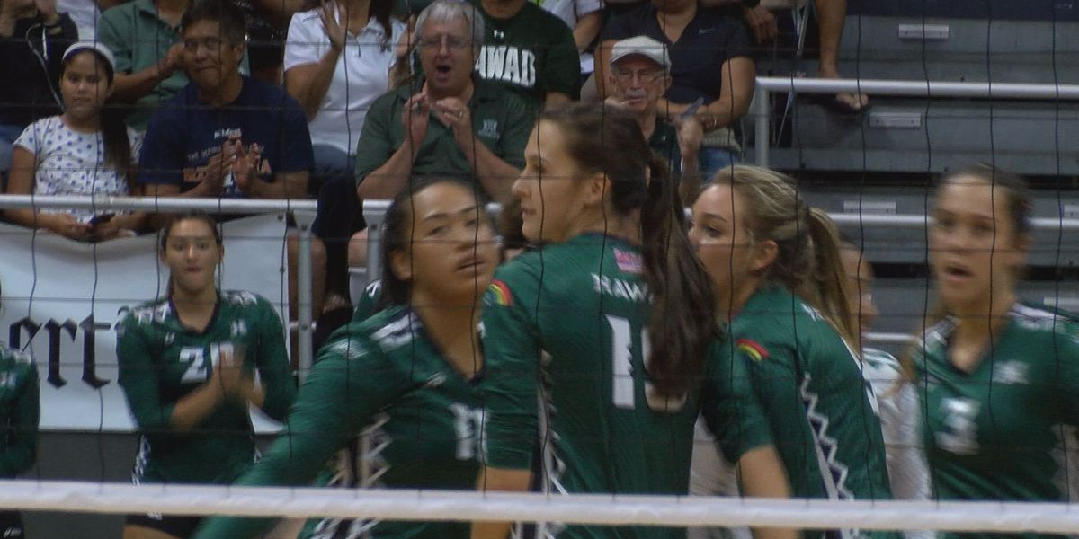 Rainbow Wahine's Maglio earns AVCA All-Region honors