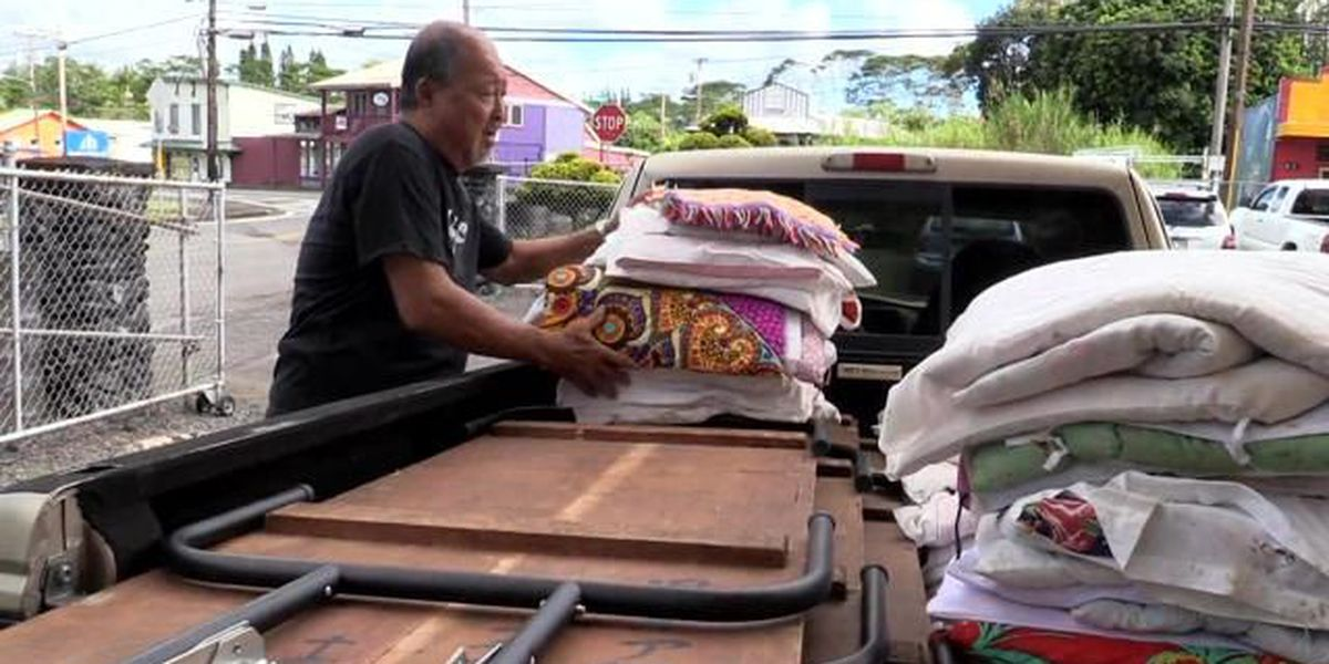 Pahoa Buddhist association starts packing up ahead of lava threat