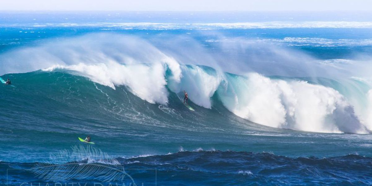 High Surf Advisories in effect for Kauai, Niihau, Big Island