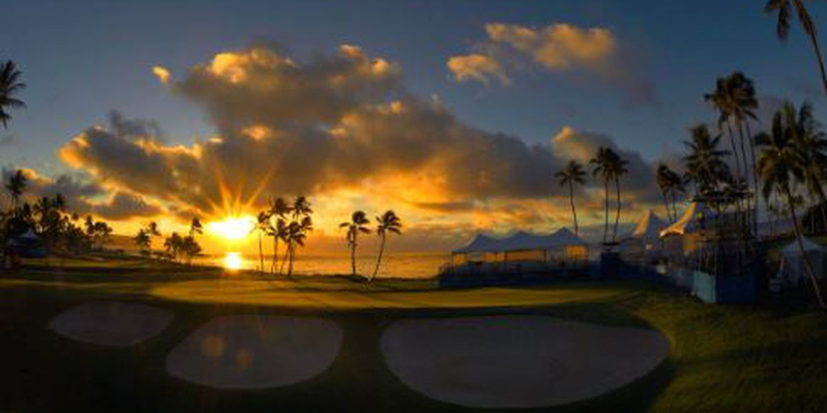 2019 Sony Open: T.V. Schedule, tee times for Round 1