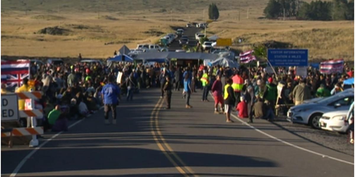 TMT protesters, law enforcement at Mauna Kea prepare for Erick's impacts