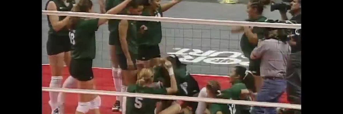 University of Hawaii (Women's Volleyball) vs. BYU (1998)