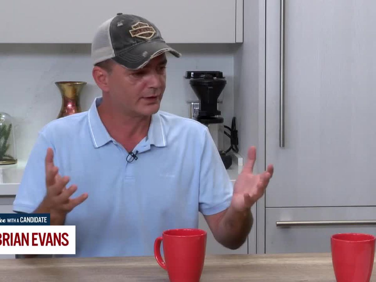 Coffee with a Candidate: Brian Evans, Democratic Candidate for Congress