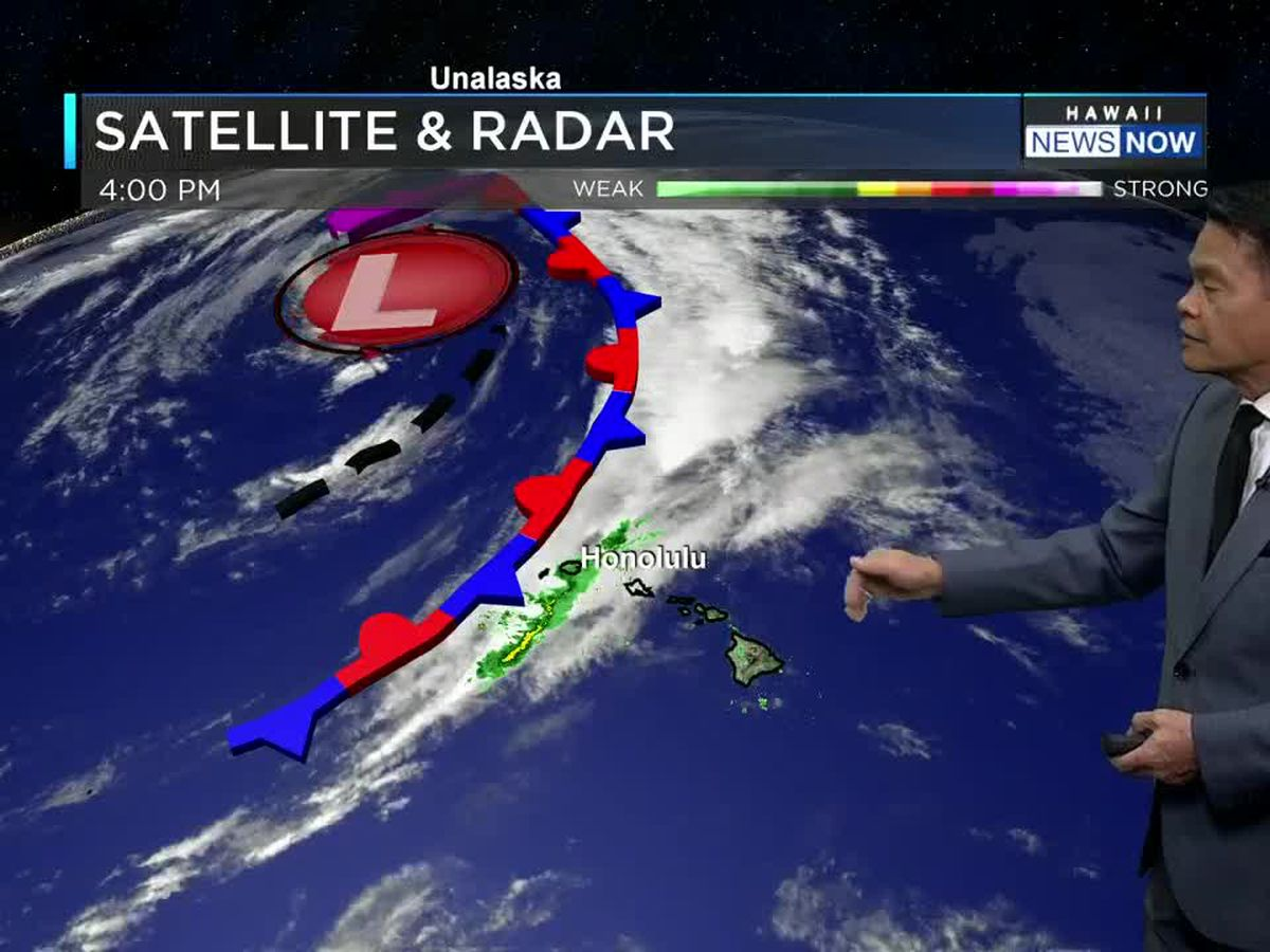 Forecast: Threat of rain continues for Kauai, possibly Oahu