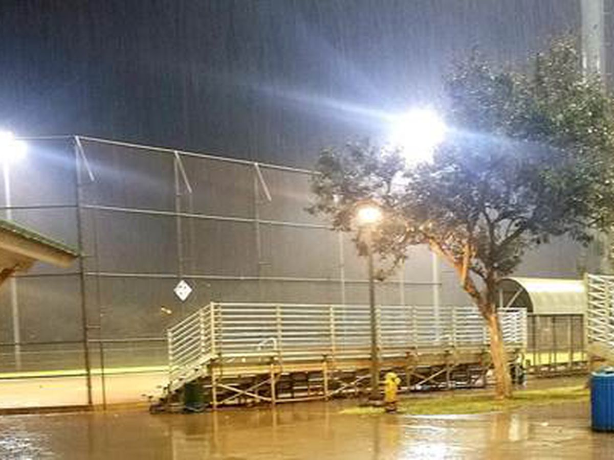 City restores light to 2 CORP softball fields, reopens facilities for nighttime play