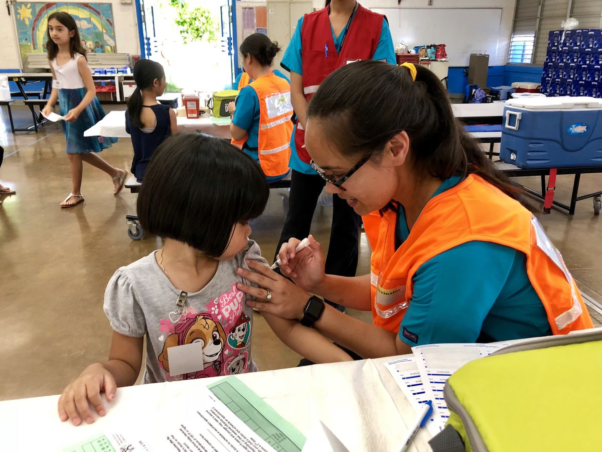 Stop the Flu at School program provides free vaccinations for keiki statewide