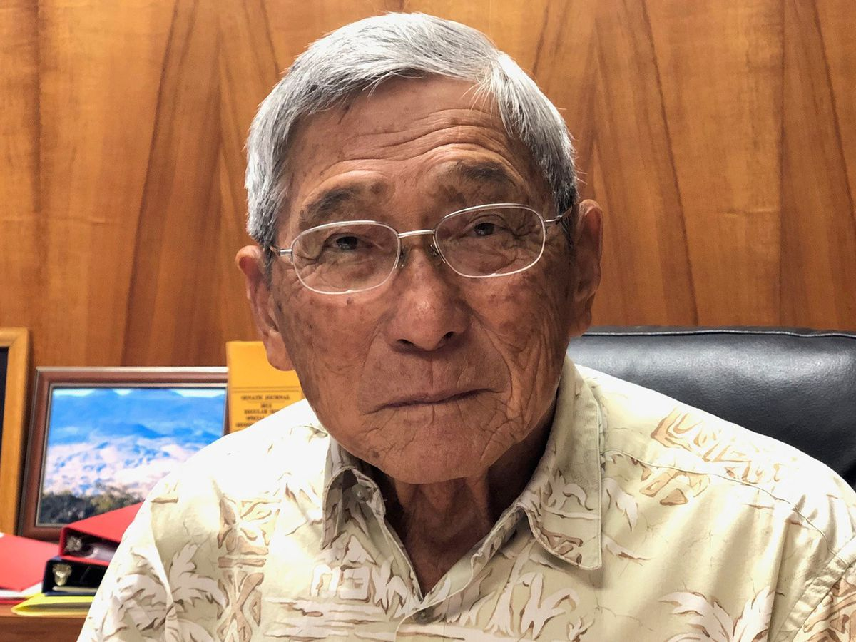Harry Kim knows why people live at Kilauea's doorstep. Because he's one of them.