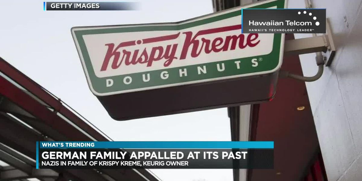 Trending: Krispy Kreme's past, guitar lullaby, man brings steer to Petco and do teens know 2000s music?